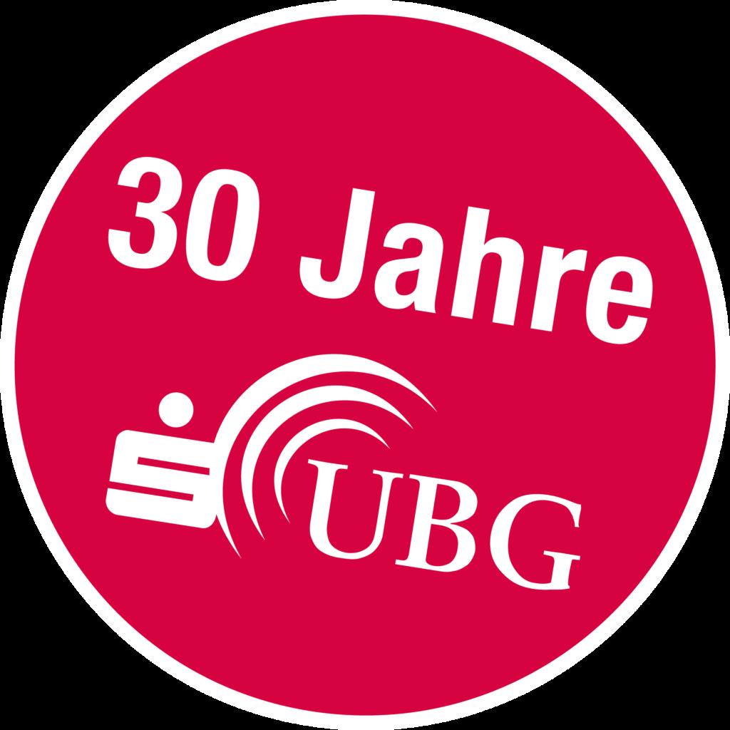 Button 30 Jahre S-UBG