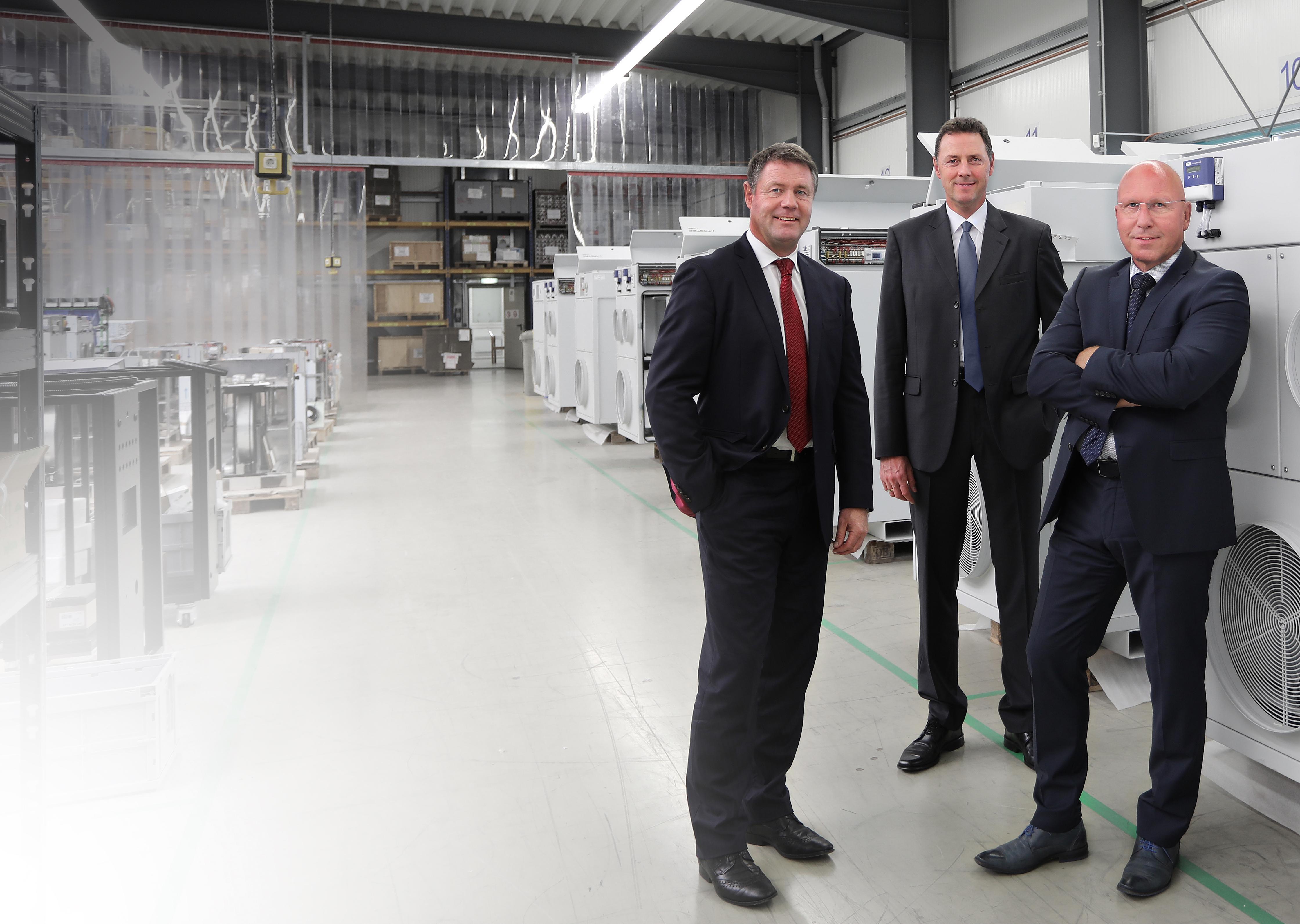 Wolfgang Haller, Manfred Bauens & Karl-Heinz Guth (QUIP AG)