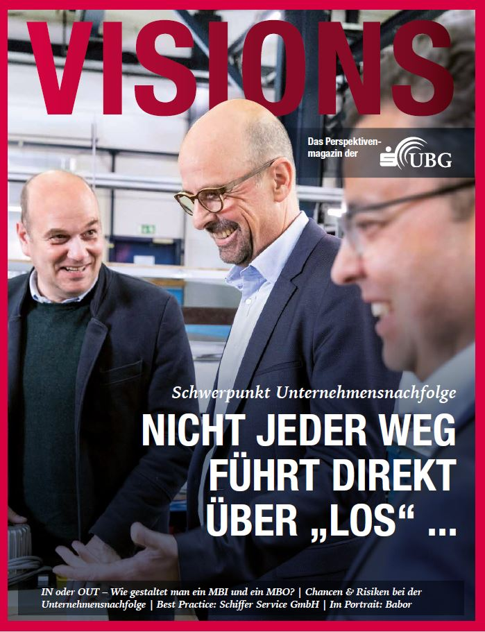 S-UBG Visions Magazin Cover